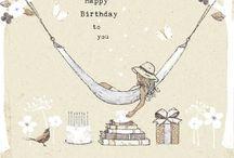 Birthday kaarten