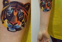 animaux / animal tattoos