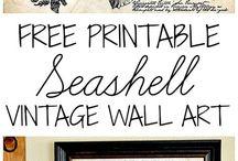 Home: free printables