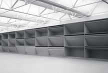 Minimalist Art / Work exploiting material, proportion, scale with bold structural forms in space.  Judd / Andre / Serra.