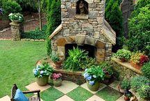 zahrada gril