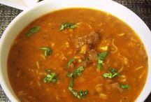 Harrira soupes