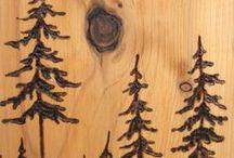 rustikalne - drevený nabytok