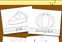 Fall/Halloween/Thanksgiving Activities