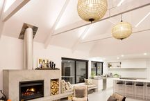 fireplaces -exposed flue