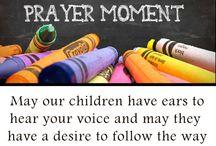 Back to School Prayer Moments