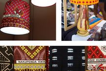 African Tribal Symbols & Patterns / This is where African wax print fabrics have been taken up a notch to create beautifully designed homeware & lifestyle products.
