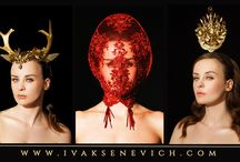 La Reine / New Tiaras Collection by @ivaksenevich