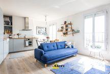 Réalisation appartement parisien par Claire Clerc