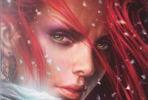 Fantasy / Tous les livres qui abordent la fantasy, le Petit Peuple, les Elfes...