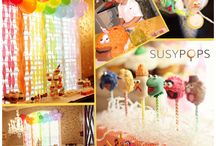 Party Cake Pops by SUSYPOPS / Cake pops for every party theme!