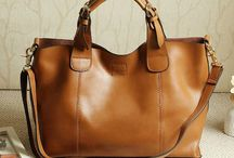 Woman leather bags