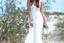 Vestido Bohemio Blanco