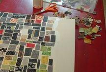 Fabrics mosaic