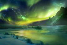Places I want to go / The places of the universe I would love to visit. Rare places to standard destinations.