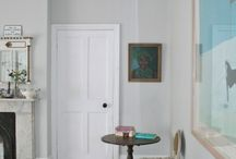 The Hallway / An incredibly important feature in your home. It sets the tone for the rest of the house so making the right impression does your home justice. Paint samples galore!