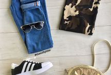 Fashion flatlays / Pretty fashion inspiration combos from yours truly.