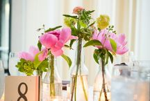 Table Arrangements / by Katie Brown // Art Farm Blooms