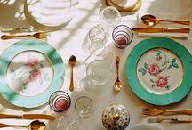 Table set & leisure drinks / by Sunshine Neven du Mont @Kronbali