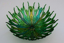 fused glass / by Linda Wall Harlow