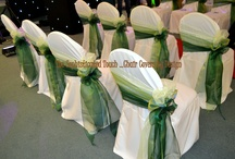 Ombre Bows - Chair Covers / Beautiful and Unique Ombre Bows from The Sophisticated Touch ...Chair Covers by Design