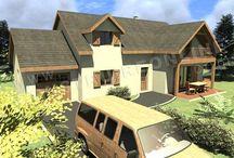 2. Home ... I have a dream ... / La maison de mes rêves ... quelques idées