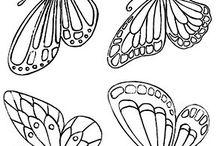 Art: szablony motyli