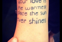 Tattoos and piercing / by Ashley Lafferty