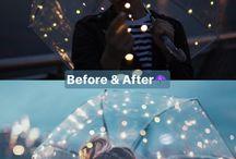 Photoshot luces