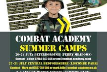 Summer camps. / Summer camps for younger people.. improve fitness, confidence, concentration,  attitude and have lots of fun all in an authentic military style