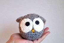birds knitted