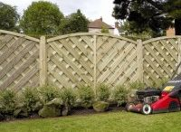 Decorative Garden Fencing / Garden fencing ideas. A selection of lap, feather edge and decorative wooden fence panels for modern and rustic cottage style gardens.
