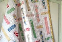 Quilts: Honeybun patterns