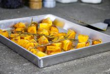 Food: zucca + pumpkin