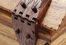 dobradiças de madeiras