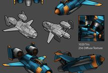 Shmup Ship Concepts
