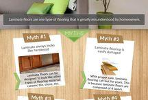 Myths About Laminate Floors / Myths About Laminate Floors