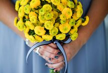 Yellow Wedding / Yellow wedding ceremony and reception ideas and details from real Clayton on the Park weddings. Modern Scottsdale wedding venue in the heart of Downtown Scottsdale. #wedding #color #yellow #details #ideas #planning #decor #modern