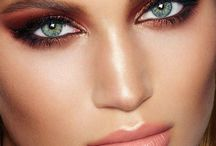 smoky eyes beauty