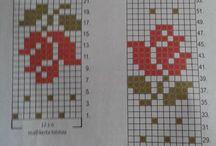 strikke mønstrer