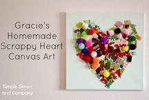 Valentine crafts x