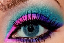 excentric make up