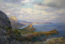 Painting - Landscapes / Collection of painted landscapes.