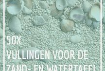 Zand en watertafel