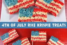 4th of July Recipes & Decor