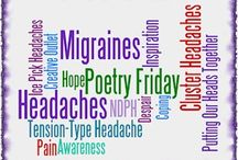 Migraine and Headache Poetry Friday / Weekly blog featuring a poem about Migraine or other Headache Disorders.