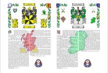 Double Surname History prints