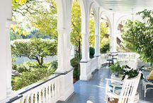 Beautiful porches