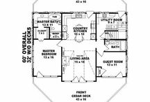 Dream House Plans / Oh, to have a few acres of natural area with a tiny house and a workshop... / by Mina Fox