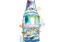 Sommerliche Werbung / Ein kleiner Streifzug durch die Werbung - Thema: Sommer